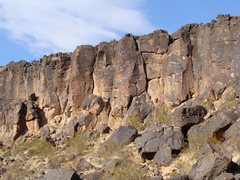 Rock Climbing Photo: sunny side