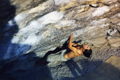 Rock Climbing Photo: Starting up Cytogrinder.  Photo by Scott Bouldien.