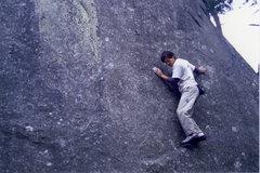 Rock Climbing Photo: Running the Mauve circut at La Dame Juane.