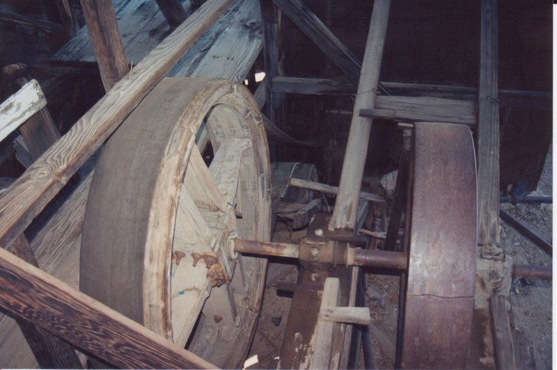 The interior workings of the mill