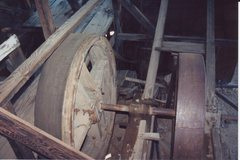 Rock Climbing Photo: The interior workings of the mill