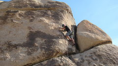 Rock Climbing Photo: My 1st outdoor lead