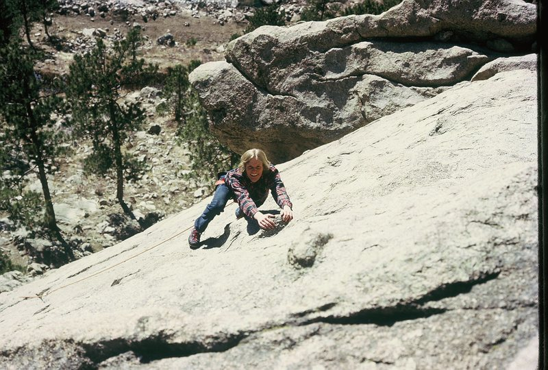 Rock Climbing Photo: The Dome - East face June 1972 - First granite lea...