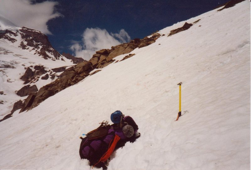 Unsuccessful attempt at Mt. Ranier