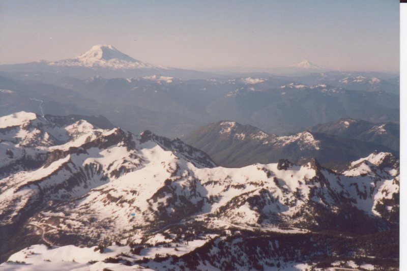 View south from Mt. Ranier