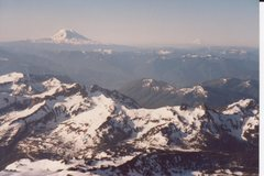 Rock Climbing Photo: View south from Mt. Ranier