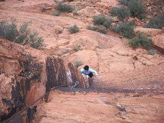 Rock Climbing Photo: At the biz..
