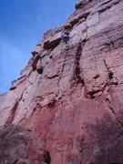 Rock Climbing Photo: Onsight 11/09.