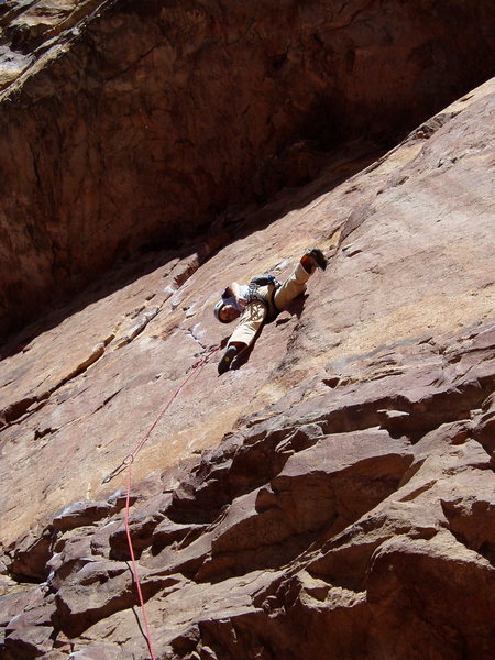 Rock Climbing Photo: The gear. You can get a good small stopper in the ...