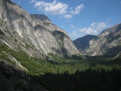 Rock Climbing Photo: The eastern end of Kings Canyon