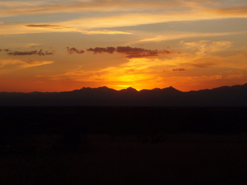 Rock Climbing Photo: Desert Sunsets never get old, Cochise Stronghold