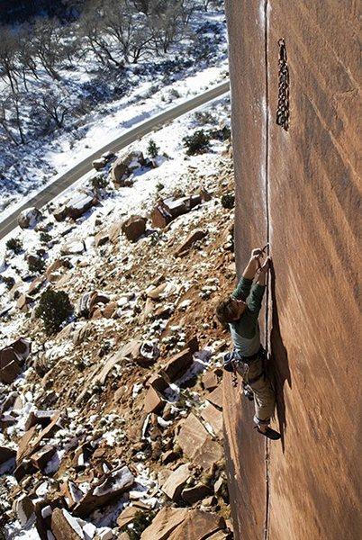 Rock Climbing Photo: Josh - Sweeden Ringal
