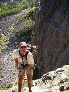 Rock Climbing Photo: Jayy-Dogg on rappel