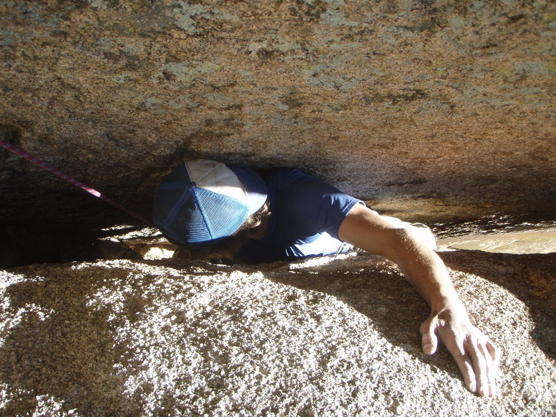 Rock Climbing Photo: Through the Wedge, Mystery of the Desert, Cochise ...
