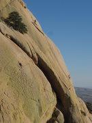 Rock Climbing Photo: Climbers on Sheepshead, Cochise Stronghold
