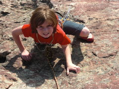 Rock Climbing Photo: Syd (12) climbing 3rd flatiron