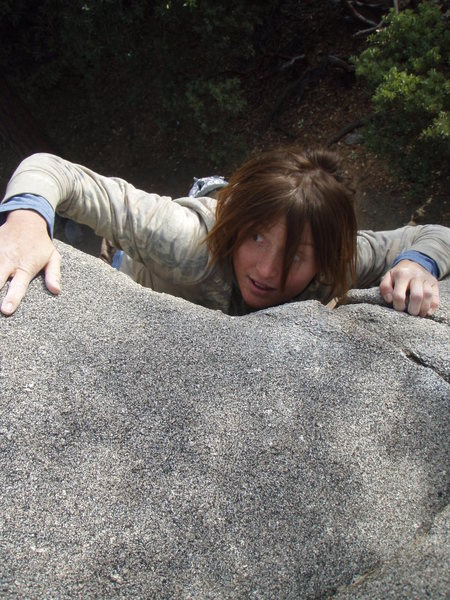 Rock Climbing Photo: Are there monsters up there?