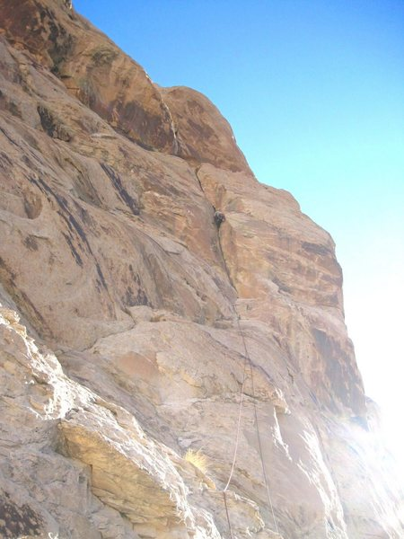 Steve Rydalch on Second Ascent of The Crack.