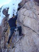 Rock Climbing Photo: I am much pumped