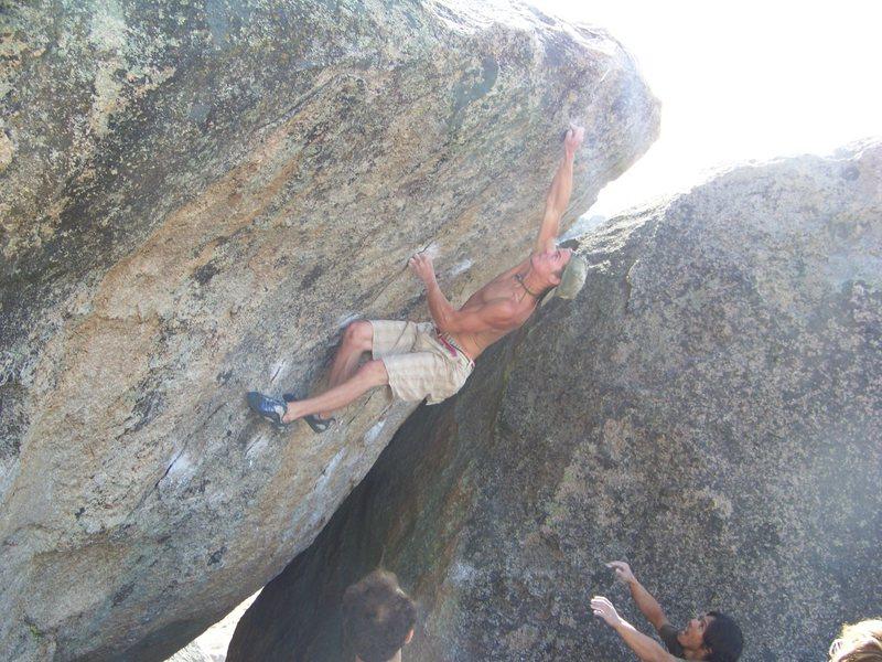 Rock Climbing Photo: Flyboy