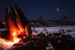 Rock Climbing Photo: Indian Creek campsite.