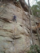 Rock Climbing Photo: B. Wagner on Hey There Fancy Pants, Jungle Trundle...
