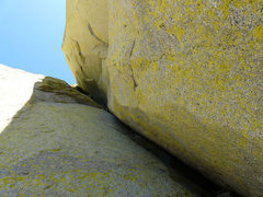 Rock Climbing Photo: Looking up.