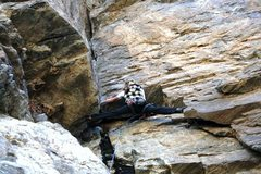 Rock Climbing Photo: On the verge of a panic attack, thanks to motivati...
