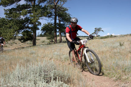 Rock Climbing Photo: Mountain Bike Action!