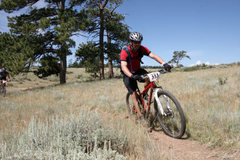 Rock Climbing Photo: Mountain Bike Action!