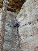 Rock Climbing Photo: Just about past the business on Environmental Impa...