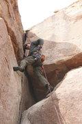 Rock Climbing Photo: Bill on Classic Corner