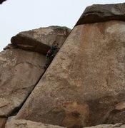 Rock Climbing Photo: Bill on False Classic Corner