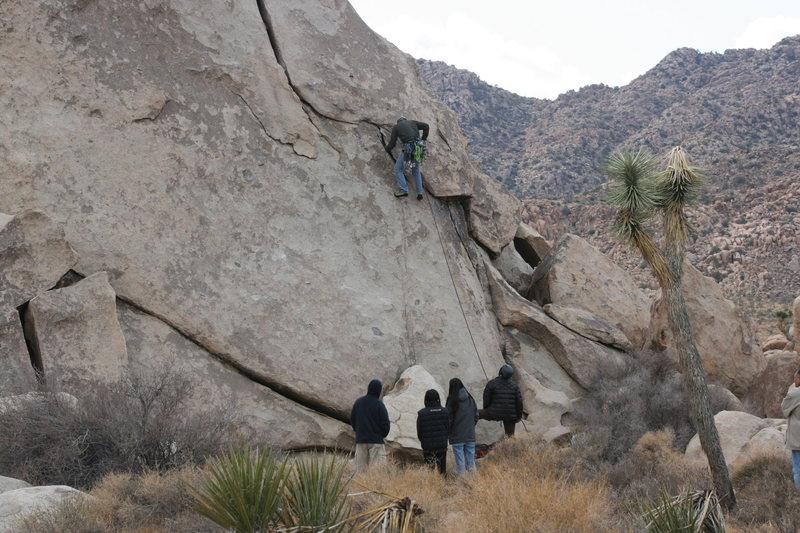 Rock Climbing Photo: Nate on Granny Goose