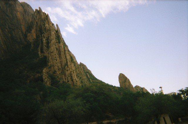 El Bobo as seen from Mini Super Wall