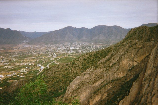 Rock Climbing Photo: Hidalgo as seen from the top of Black Cat Bone on ...
