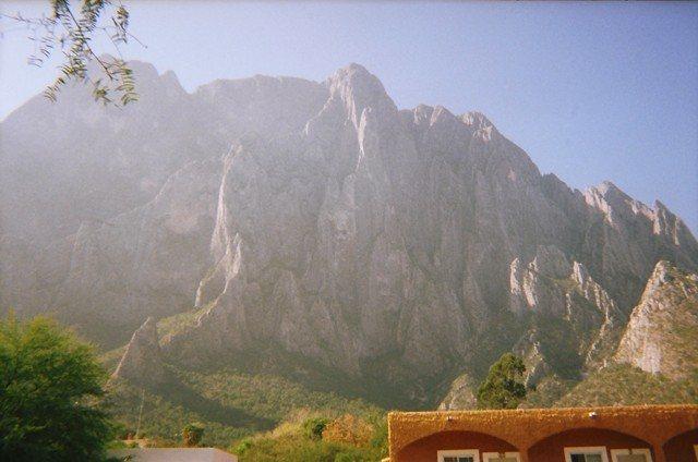 View of El Potrero from La Posada Camp Ground