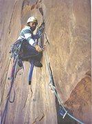 Rock Climbing Photo:   P.Ross Starting P2.