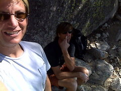 Rock Climbing Photo: Me and Tommy (T2) at Tahquitz