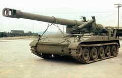 M110A2 self propelled Howitzer