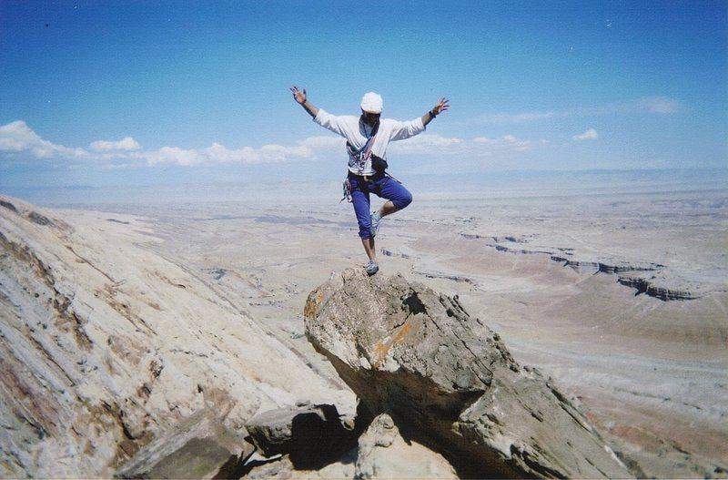Rock Climbing Photo: The summits ....