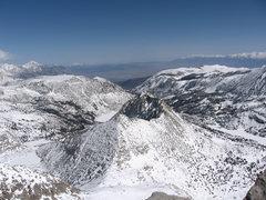 Rock Climbing Photo: Hurd Peak from Mt. Goode