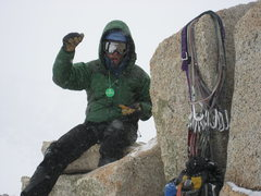 Rock Climbing Photo: Hurd Peak summit