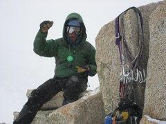 Rock Climbing Photo: Hurd Peak summit