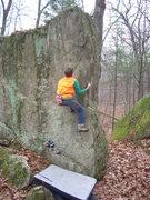 Rock Climbing Photo: Deer Season send.