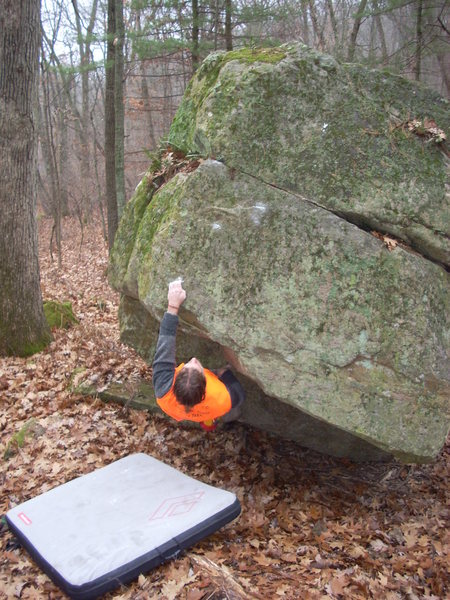 Rock Climbing Photo: Deer Season send.
