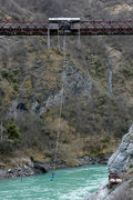 Rock Climbing Photo: 43-meter Kawarau Bridge, near Queenstown...home to...
