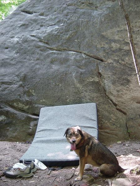 Rock Climbing Photo: Rumbling Bald Boulders