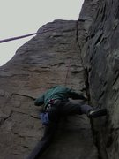 Rock Climbing Photo: Jim Matthews on Coco's Lichen It