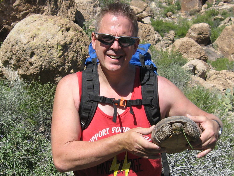 Rock Climbing Photo: Desert Tortoise